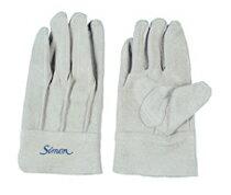 【代引き不可】 牛床革手袋 背縫い シモン 107AP 100双 ケース売り simon