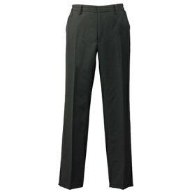 黒 パンツ メンズ 861262 脇ゴムスラックス 裾上げ機能付きパンツ アイトス