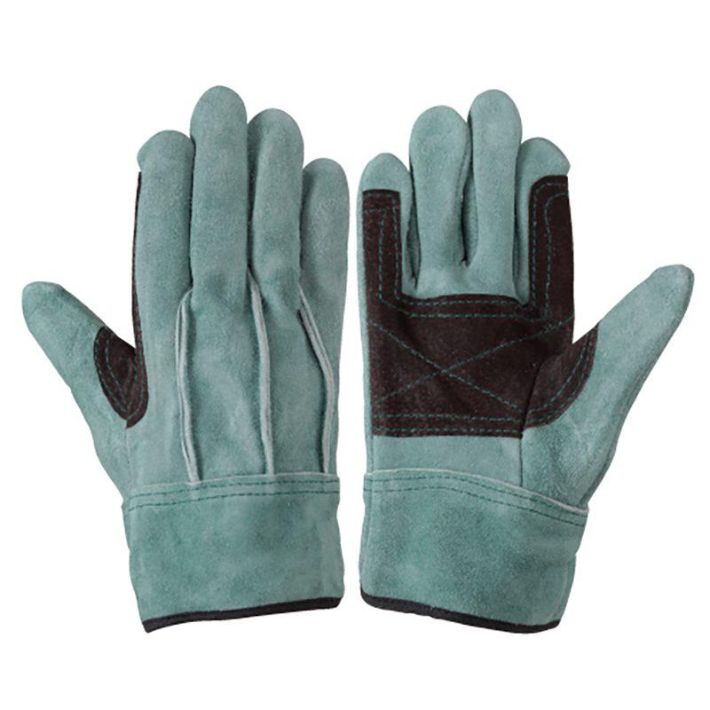 作業手袋 シモン 牛床革手袋 背縫い 107AAAオイル大当付 10双組 simon 皮手袋