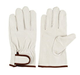 作業革手袋(皮手袋) 豚革手袋 当て付マジック 10双組 PL-718 シモン