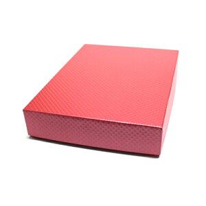 大人のおしゃれな書類箱 お道具箱ピンクX白 A3サイズ(A3書類は勿論、A3クリアファイルもそのまま入れることができます)書類収納ケース 書類整理ボックスひし形模様