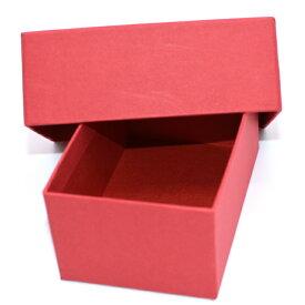 アクセサリー用箱小物入れ用箱お得な10個セット@198紙製 ギフトボックス 箱赤中も赤色でおしゃれ