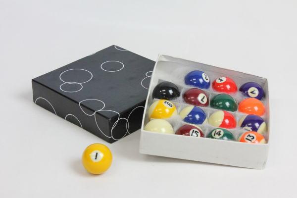 家庭用ビリヤードボール38mmボール16個セット[BY-3410]【HLS_DU】
