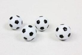 直径3.5cmサッカーボール4個セットテーブルサッカーゲーム用[TB-3816R]