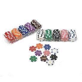 ポーカーチップ セットA10種×20枚1〜10000カジノゲーム[PC-2314]