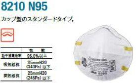 8210 N95 防護マスク(20枚入)【DK】