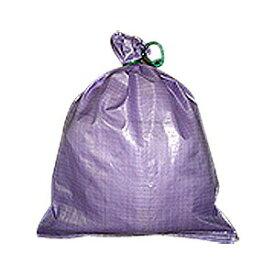 【土のう袋】 カラー強力土のう袋 紫 100枚 【MK】