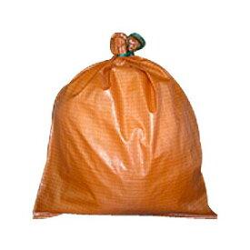 【土のう袋】 カラー強力土のう袋 橙 100枚 【MK】