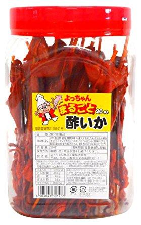 【珍味・おつまみ】よっちゃん まるごと酢いか 20本入 お菓子 4903041301463【YH】