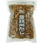 ヤマヒデ食品 業務用だし(2号だし) 1kg 厚削り 出汁 国産さば・いわし・むろあじ 4903123410243【YH】