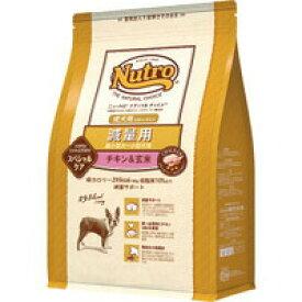 マースジャパンリミテッド ナチュラルチョイス NC 減量用 超小型犬~小型犬用 成犬用 チキン&玄米 3kg【T】