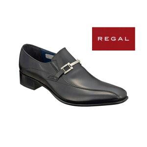 【決算セール中+ポイント還元】リーガル 靴 メンズ 27FRBB ハイヒール ビット ビジネスシューズ【セミマッケイ式製法 】