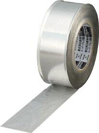 トラスコ中山 スーパーアルミ箔粘着テープ 100mm×50m ツヤあり TRAT100-1 [A210118]
