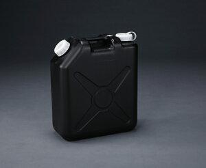 エスコ ESCO 20L ポリタンク(黒) (ポリエチレン製/ノズル無) EA508AT-320 [I270302]