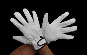 エスコ ESCO [L] 革手袋(豚革/当手付) EA353BE-102 [I260128]