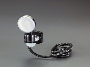 エスコ ESCO AC100V/4W LEDセンサーライト EA864CB-91A [I260227]