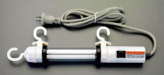 エスコ ESCO AC100V/13W 作業灯(蛍光球) EA815LD-20 [I120405]
