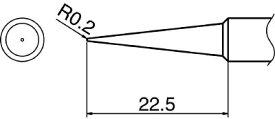 白光 ハッコー こて先 BL型 T18-BL [A011621]