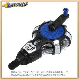 シンワ測定 ハンディチョークライン 5倍速手巻き 粉付3倍太糸 ブルー No.77560 [A031104]