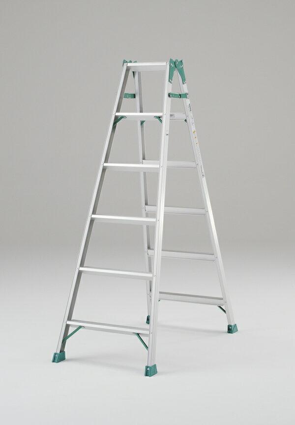 ピカ 【代引不可】【直送】【個人宅不可】 アルミ はしご 兼用 脚立 210cm JOB-210E [A130206]