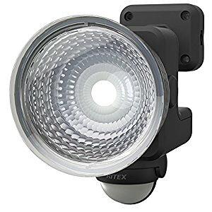 ムサシ 【在庫品】 RITEX 1.3Wx1灯 フリーアーム式LED乾電池センサーライト LED-115 [E010704]