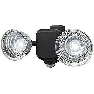 ムサシ RITEX 3.5Wx2灯 フリーアーム式LED乾電池センサーライト LED-265 [E010704]