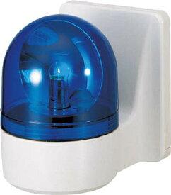 パトライト 壁面取付け小型回転灯 WH-100A-B [A072121]