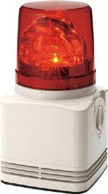 【20日限定☆楽天カード利用でP14倍】パトライト 電子音内蔵LED回転灯 RFT-220A-R [A072121]
