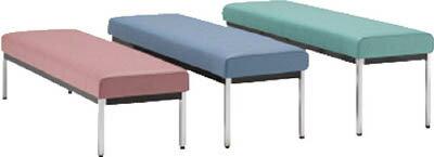 ミズノ 【代引不可】【直送】 長椅子W1800×D470×H385 ブルー MC1828-SH385-B [F010806]