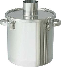 日東金属工業 ステンレスタンク 粉体回収容器150Aパイプ 20L FK-CTH-30-SP-150A [A180407]