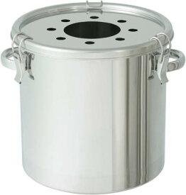 日東金属工業 ステンレスタンク 粉体回収容器5K200AFF穴付 45L FK-CTH-39-5KHL-200A [A180407]