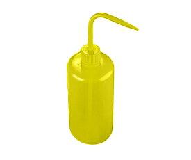 アズワン AS ONE 細口洗浄瓶WGR136Pイエロー 3-6120-03 [A101101]