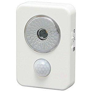 アイリスオーヤマ IRIS 乾電池式LED屋内センサーライト ハンディタイプ ホワイト ISL3HN-W [E010704]