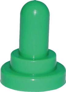 【◆◇28時間限定!ポイント10倍!◇◆期間注意!】[決算セール選抜商品!]NKKスイッチズ M12トグルスイッチ用カラー防水キャップ AT-402 緑 AT-402-M [A072121]