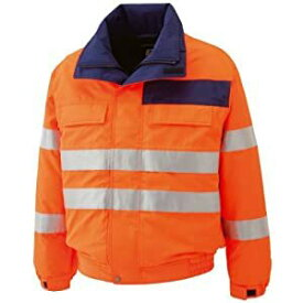 ミドリ安全 高視認性 防水帯電防止防寒ブルゾン オレンジ 4L SE1135-UE-4L [A061802]