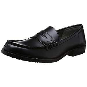ミドリ安全 ミドリ安全 女性用超耐滑作業靴 ハイグリップ ローファータイプ H-950L ブラック 24.0CM H-950L-BK-24.0 [A060420]