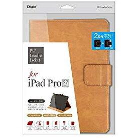 ナカバヤシ iPadPro9.7用PUレザーカバー キャメル TBC-IPS1608CA [F040309]
