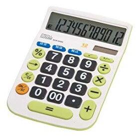 【20日限定☆楽天カード利用でP14倍】ナカバヤシ 電卓デスクトップ大型キータイプM ECD-8502G [F011412]