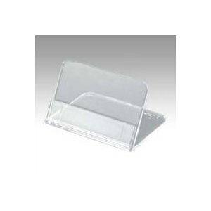 共栄プラスチック メタクリル 豆カード立(大) 5個入 [67993] L-50-5 [F020314]