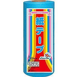 トーヨー 単色カラーテープ 水 [42483] No.113015 [F020313]