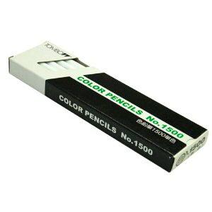 トンボ鉛筆 色鉛筆 1500 単色 白 [65702] #1500-01 [F020310]