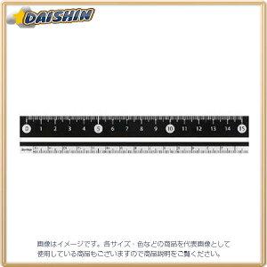 レイメイ藤井 RF 白・黒 直定規 15センチ 黒 [344527] APJ188B [F020310]