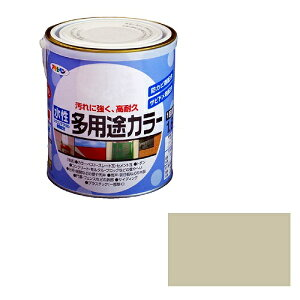 アサヒペン 水性多用途カラー ソフトグレー [A190201]