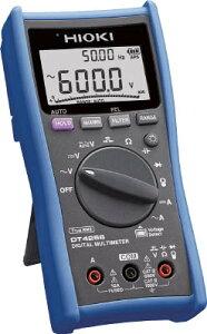 日置電機 HIOKI デジタルマルチメータ(最多機能搭載機) DT4256 DT4256 [A030215]