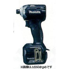 マキタ 充電式インパクトドライバ14.4V 6.0Ah(黒) TD160DRGXB (電池2個・充電器・ケース付)