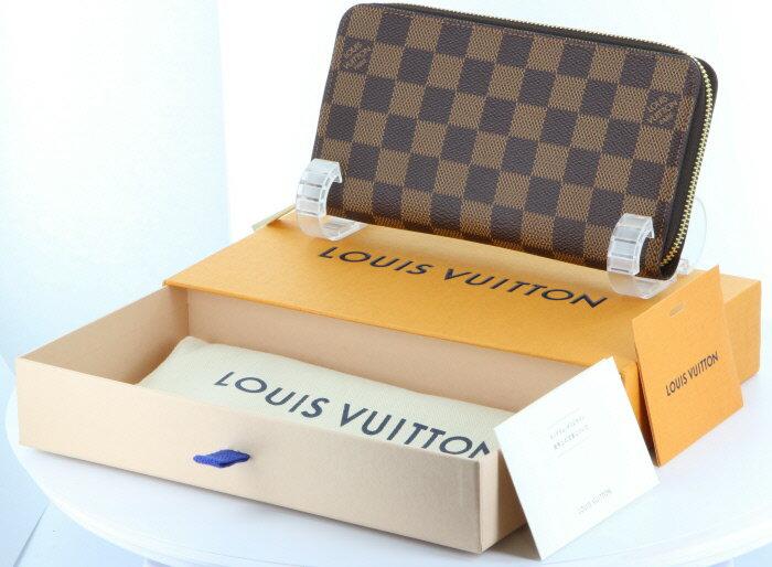 【新品】【2017年製造】カードポケットの増えた話題の新型ジッピー ルイ・ヴィトン ダミエ ジッピーウォレット N41661 箱 袋付ビトン ジッピー 財布