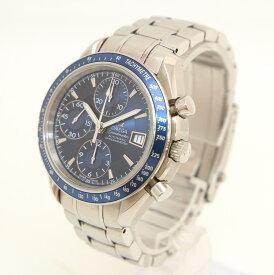 【中古】時計 腕時計 メンズ腕時計 オメガ スピードマスターデイト 3212-80 自動巻 SS ステンレススチール ブルー 青文字盤 ブランドウォッチ メンズウォッチ