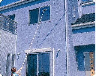 高くて手の届かない場所の窓掃除に!ガラスワイパージャンボ4.6m