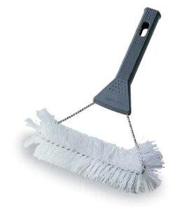 水はねしにくくネットを傷めません。網戸やエアコンフィルターの掃除に。MM網戸ブラシ