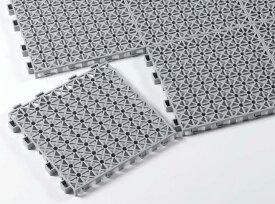 通気性が良く、倉庫や物置などに最適です。カーゴパレット 1ピース300×300mm
